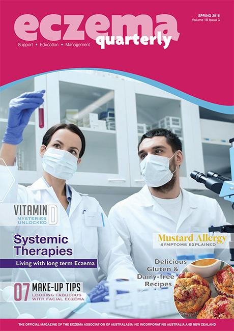 Eczema Quarterly Spring Magazine 2016 Large