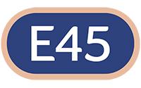 E45 logo