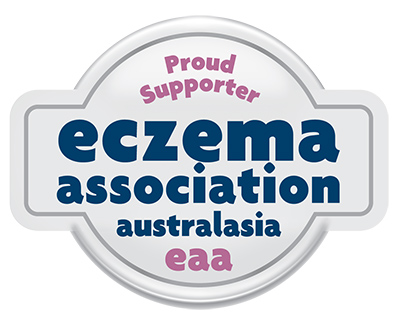 Proud Supporter Eczema Association of Australasia Inc Logo